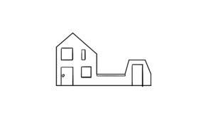 Huisje in 2D