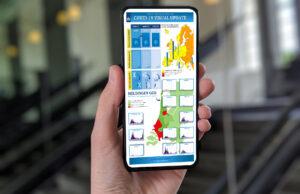 Suggestie voor een infographic op de smartphone