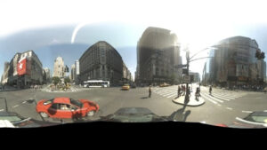 Een opname van Google Streetview